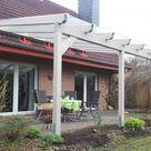 Terrassenüberdachung Wandanbau aus Holz online bestellen
