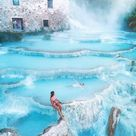 Cascate del Mulino hot springs in Saturnia | Visit Tuscany
