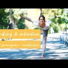 60 minute MORNING PRACTICE grounding & intention | SARA TICHA
