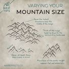 How to Draw Ridgeline Mountains — MapEffects | Josh Stolarz