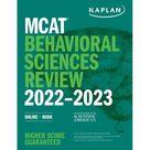 MCAT Behavioral Sciences Review 2022-2023: Online + Book