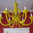 Painted Light Fixtures