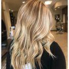 dark blonde hair with highlights natural