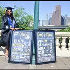 Custom Nursing Graduation Photo Prop Sign