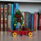 Vintage Terror Toad  TMNT KO Action figure   Skateboard   Etsy