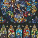 Harry Potter Counted Cross Stitch Pattern / Harry Potter Cross Stitch Chart / Movie Cross Stitch Chart / Instant Download PDF Pattern