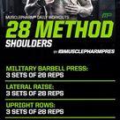 MusclePharm 28 Shoulders
