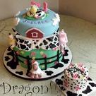 Farm Animal Cakes