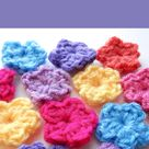 How To Crochet A One Round Flower