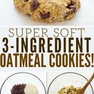 3 Ingredient Banana Oatmeal Cookies - One Clever Chef