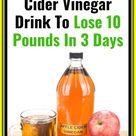 Fat Burning Apple Cider Vinegar Drink To Lose 10 Pоunds In 3 Dаys