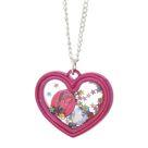 Frozen Anna Shaker Heart Necklace - Silver