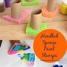 Handled Sponge Stamps