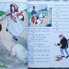 The Real Mother Goose | 1983 | Rand McNally | Vintage Children's Book | Nursery Rhyme | Mother Goose
