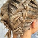 Braided Hairstyles for Short Hair The Most Popular Ideas