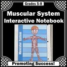 Muscular Human Body Systems Interactive Notebook Science Distance Learning Craft