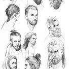 Barbas y peinados para hombre #vikinghairstyles