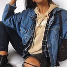 108 Best Fall Outfit Ideas to School for Teen Girl - style - #fall #Girl #ideas ...