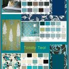 Teal Color Schemes