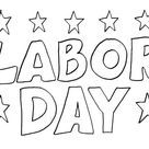 30+ Free Labor Day Coloring Pages Printable