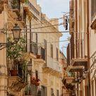 Street Scene in Ortigia, Sicily