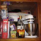 Kitchen Cupboard Organization