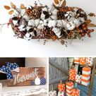 50+ Best DIY Fall Craft Ideas and Decorations for 2021