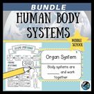 Human Body Systems Bundle Sketch Notes, PPT, Concept Map, & Review Game