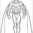Batman Kleurplaten Printen 32