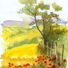 80 Simple Watercolor Painting Ideas   idea