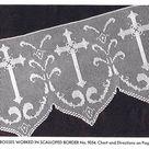 Vintage Filet Crochet Patterns Church Laces Spool Cotton Company Net Alter Lace Scarves 1930's PDF Reproduction Instant Download