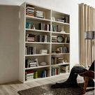 Raumteilerregal »Toro«, 12 Fächer, Breite 185 cm, Creme Weiß