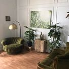 The Green Room (it's all reused except for the cupboard, lamp post, and painting); Saskatoon, Canada