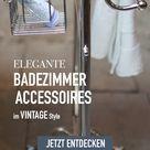 Nostalgie Badezimmer Accessoires