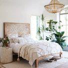9 Cute Boho Bedroom Inspiration - Nikki's Plate Blog