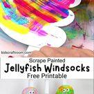 Jellyfish Windsocks