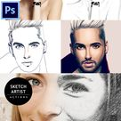 Pencil Sketch Action - Photo Effects Actions