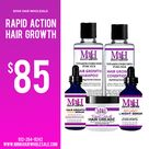 Rapid Action Hair Growth Kit   4oz