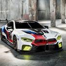 BMW M8 GTE Racecar 2018 Poster. ID1321481