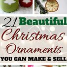 21 Easy Christmas Ornaments To Make and Sell | The Mummy Front