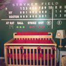 Baseball Themed Bedrooms