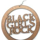 Black Girls Rock Earrings   natural hair accessories   Afrocentric jewelry - Natural