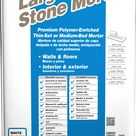 MAPEI Large Tile and Stone 50 lb White Thinset Medium Bed Thinset Tile Mortar   11350136