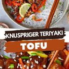 KNUSPRIGER TERIYAKI TOFU