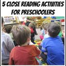 Close Reading Activities