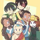 Team Avatar by DrawWhatYouLike on DeviantArt