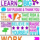 Classroom Rules - School Sign - 18