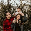 Winter Family Photos with Baby | Sarah, Dan and Cameron