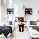 Wohnzimmer ohne Sofa einrichten - 20 Ideen und Sitz-Alternativen