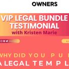 Blog legal page templates